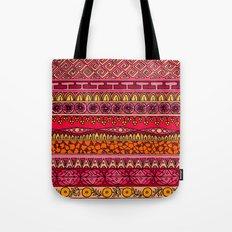 Yzor pattern 013 Summer Sunset Tote Bag