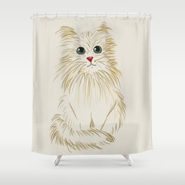The Lion Within Shower Curtain