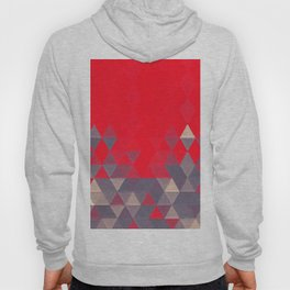Geo Pattern Fire Engine Hoody