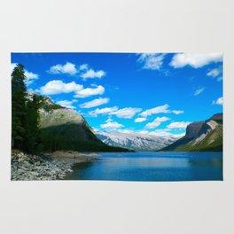 Lake Minnewanka Rug