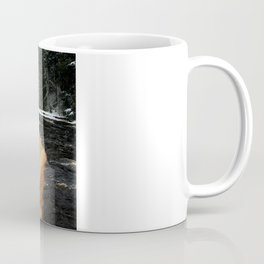Wintry Waterfall Coffee Mug