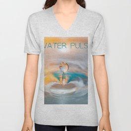 drop of water Unisex V-Neck