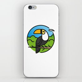 Toucan –  Color iPhone Skin