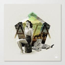 Divas: Ava Gardner. Canvas Print