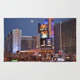 Las Vegas moon Rug