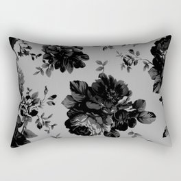 Gothic Floral Rectangular Pillow
