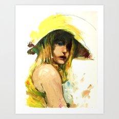 Sunhat Art Print