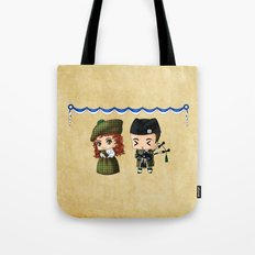 Scottish Chibis Tote Bag
