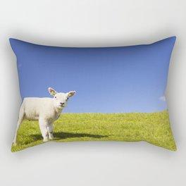 Texel lamb on the island of Texel, The Netherlands Rectangular Pillow