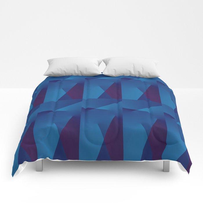 Abstract Geometric QQ Comforters