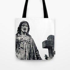 Cemetery sculpture Tote Bag