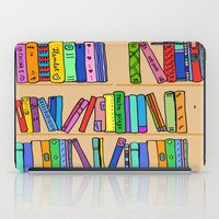 library iPad Cases featuring The library by andy_panda_