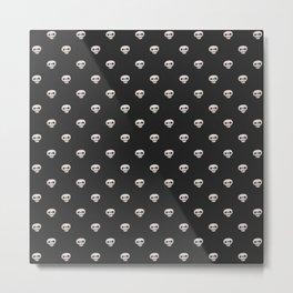Skull-King ::: Pattern Metal Print