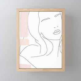 Liv Framed Mini Art Print