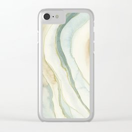 Earth and Agate Clear iPhone Case