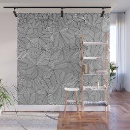 Digital Zentangle Light Wall Mural