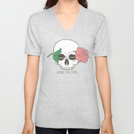 Blind For Love Unisex V-Neck