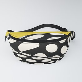 Wavy Dots on Yellow Fanny Pack