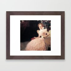 Gustav Klimt - Portrait of Sonja Knips Framed Art Print