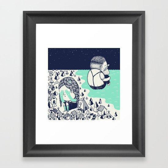 Departures Framed Art Print