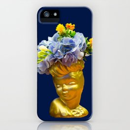 'Golden Girls' Floral Headvase iPhone Case