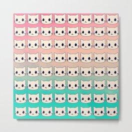 cats-33 Metal Print