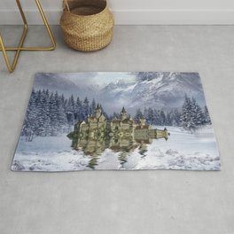 Upon the glacier Rug
