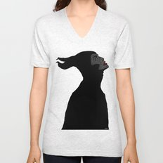 Malificent Lines Unisex V-Neck