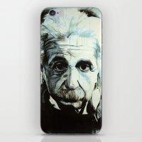einstein iPhone & iPod Skins featuring Einstein by Olivia Potts Art