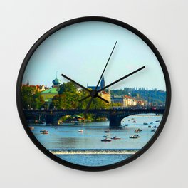 Vltava | Prague Wall Clock