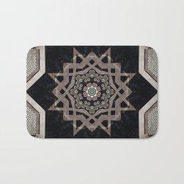 Modern Decorative Pattern Star Mandala Bath Mat
