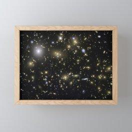 Galaxy Cluster MACSJ0717.5+3745 Framed Mini Art Print