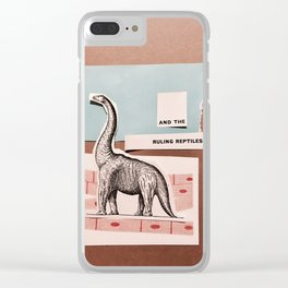 RULING REPTILES AND EDUCATION Clear iPhone Case