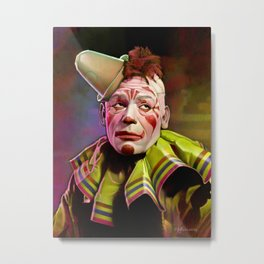 Laugh, Clown, Laugh (1928) Metal Print