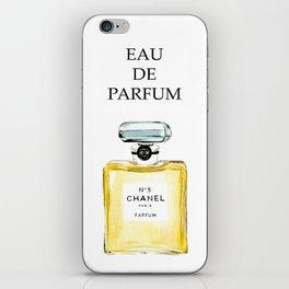 Yellow Perfume iPhone Skin