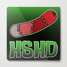 Horrorshow Hot Dog Logo - Frankenweenie Metal Print