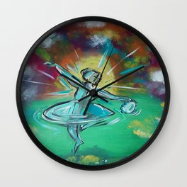 Adoration in Dance Wall Clock