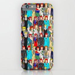 Rock Stars Heroes LV Gray iPhone Case
