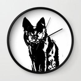 Mystery Cat Wall Clock