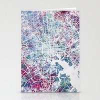 baltimore Stationery Cards featuring Baltimore by MapMapMaps.Watercolors