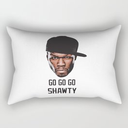 50 Cent Rectangular Pillow