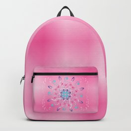 Music Notes In Pink Backpack