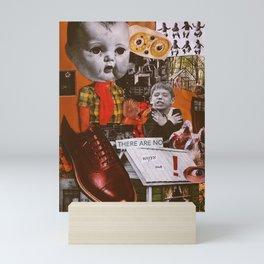 Beware the Crying Baby Mini Art Print