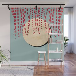 Hanging Vine, Full Moon Wall Mural