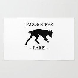 Black Dog Jacob's 1968 fashion Paris Rug