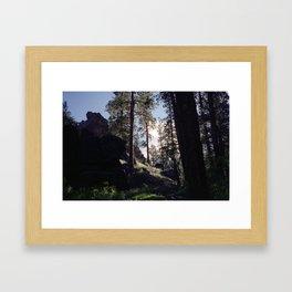 East Oregon Framed Art Print