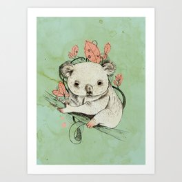 Koala! Art Print