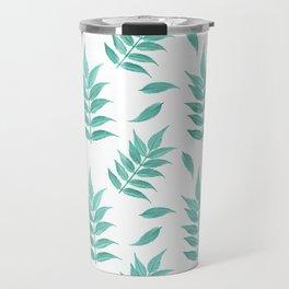 Leaf No.1 Pattern Travel Mug