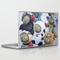 peanuts Laptop & iPad Skins featuring Zombies and Peanuts by Misspeden