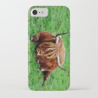 buffalo iPhone & iPod Cases featuring buffalo by  Agostino Lo Coco